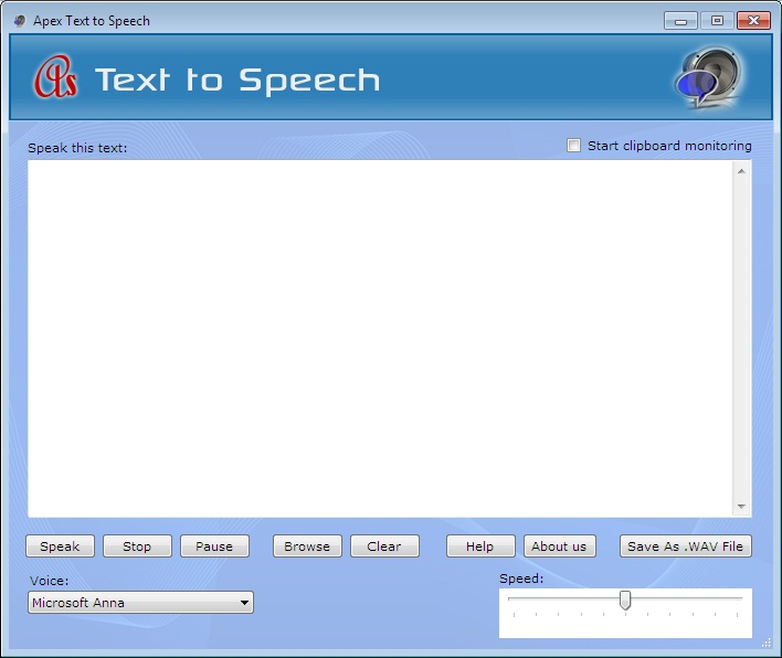 Apex Text Reader