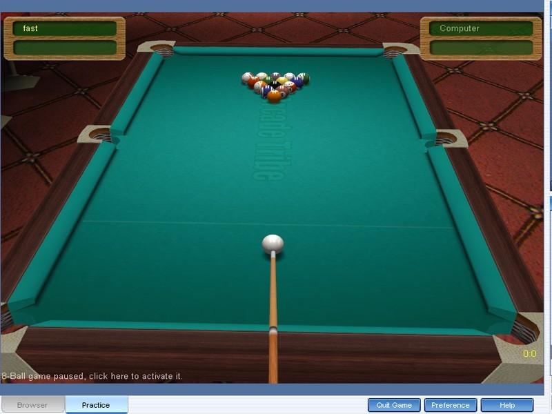 Arcadetribe Pool 3D