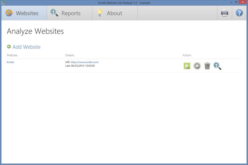 Arclab Website Link Analyzer