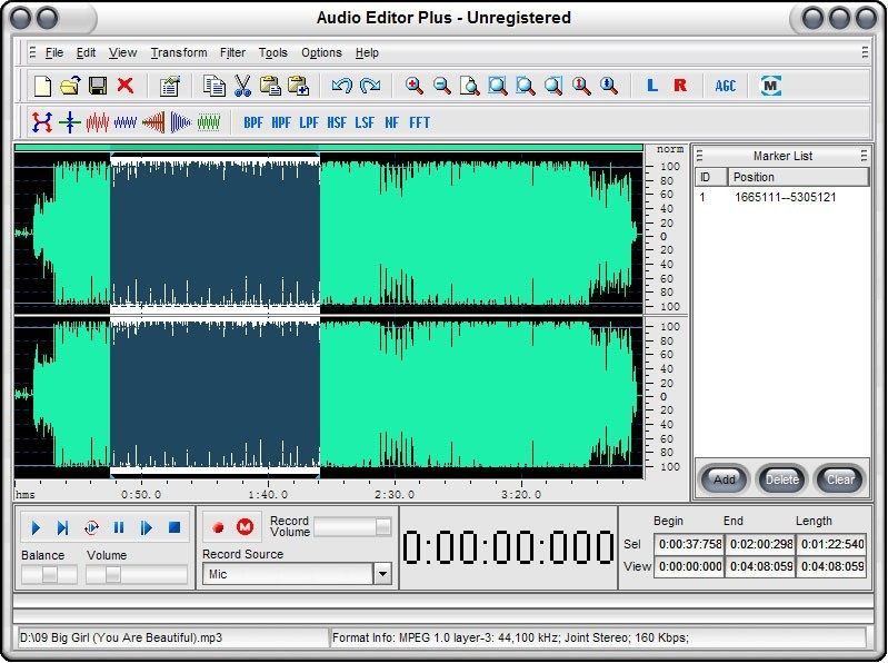 Audio Editor Plus