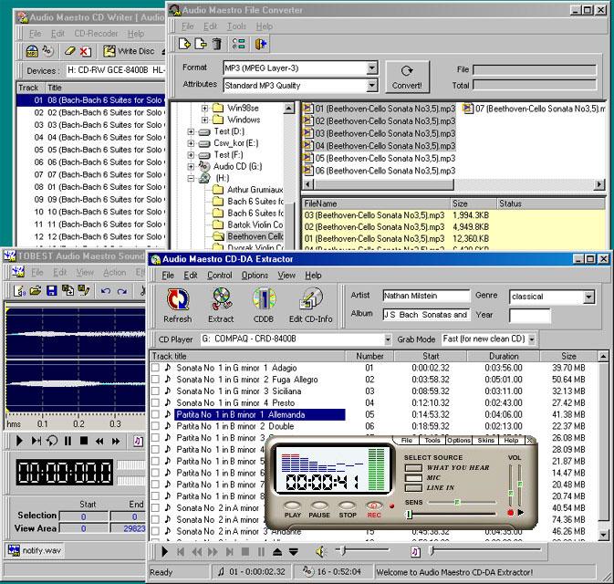 Audio Maestro Extractor Pack