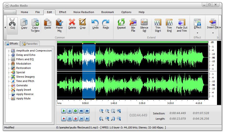 Audio Redo