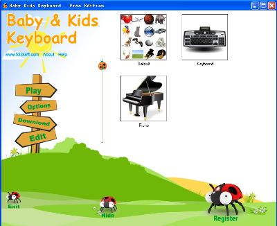 Baby Kids Keyboard Free Edition