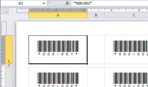 BarCodeWiz Code 39 Barcode Fonts