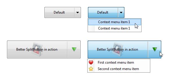 Better SplitButton