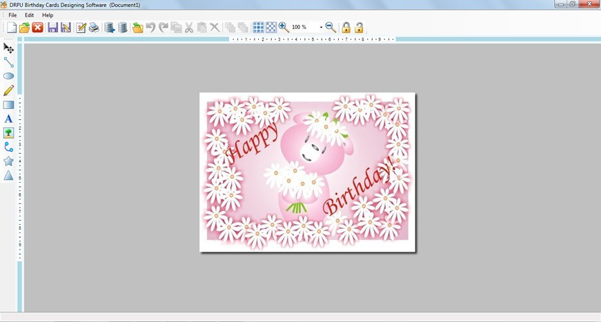 Birthday Card Designer
