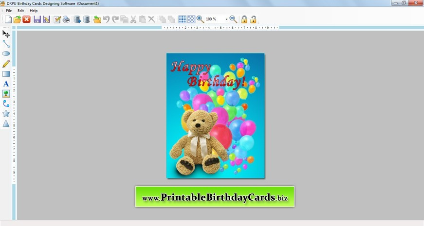 Birthday Cards Designer