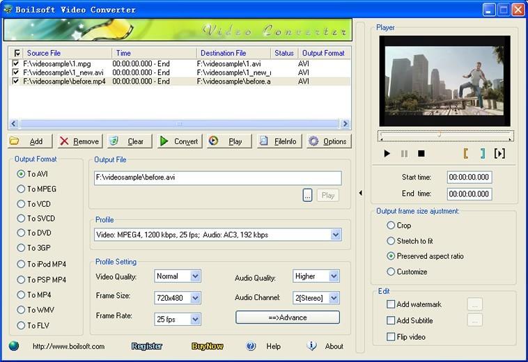 Boilsoft MTS Converter