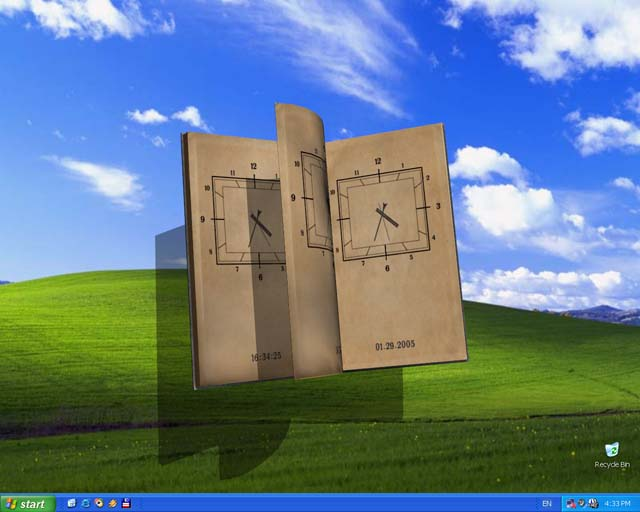 Book Of Time 3D Screensaver