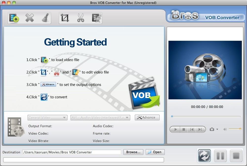 Bros VOB Converter Mac