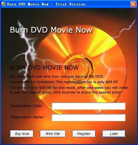 Burn DVD Movie Now