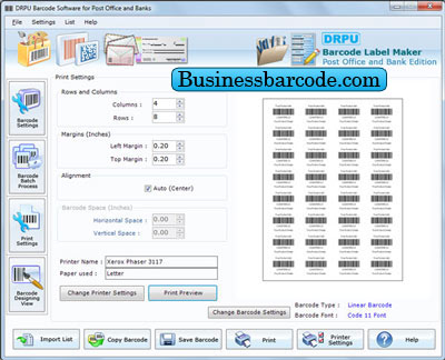 Business Barcode Software