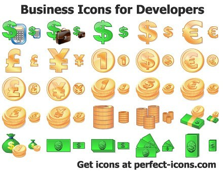 Business Icons for Developers