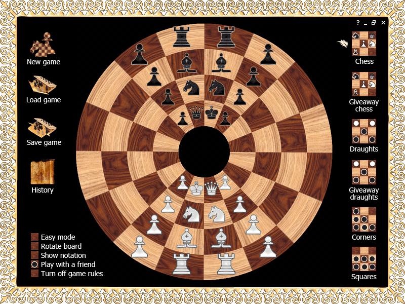 Byzantine Circular Chess