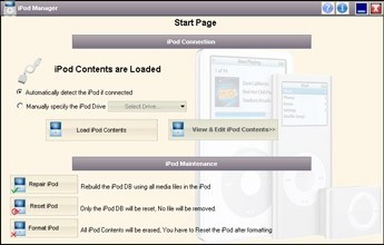 CD iPod Manager