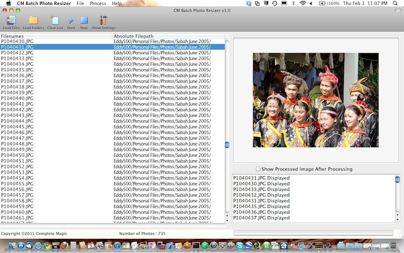 CM Batch Photo Resizer Mac