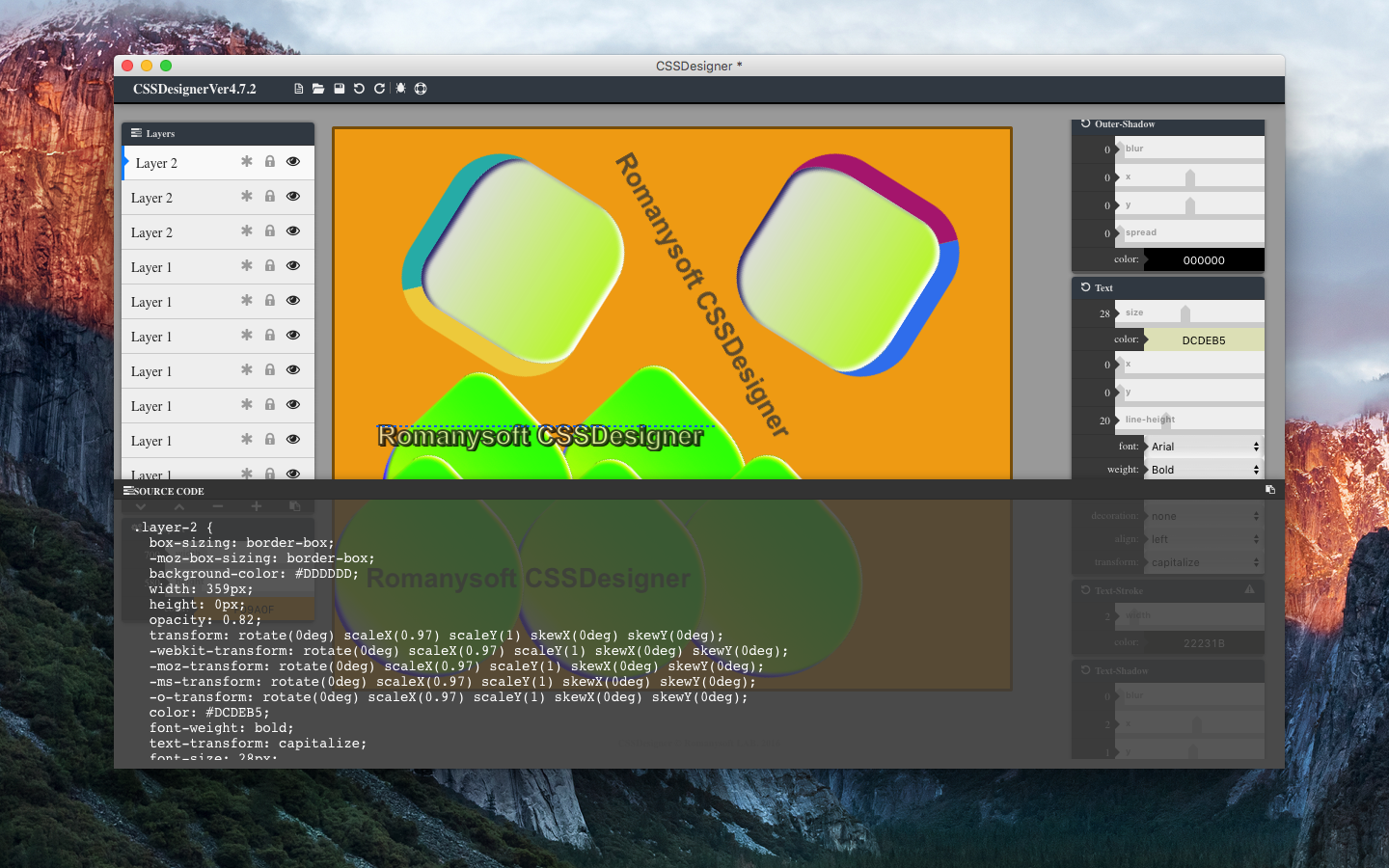 CSSDesigner for Mac