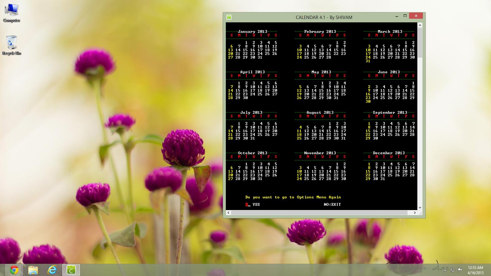 C-CPP Calendar