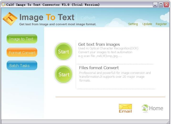 Calf Image To Text Converter