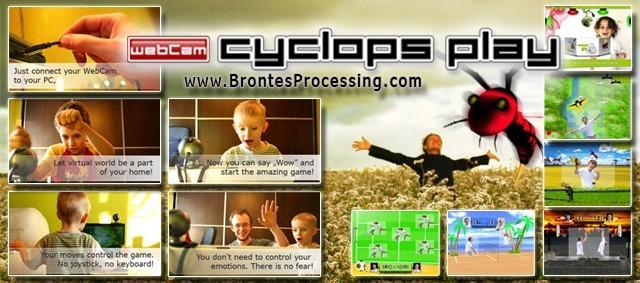 CamGames - WebCam Cyclops PLAY Games