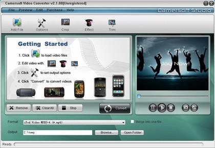 Camersoft Video Converter