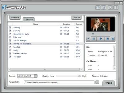 Cinema HD 2.0