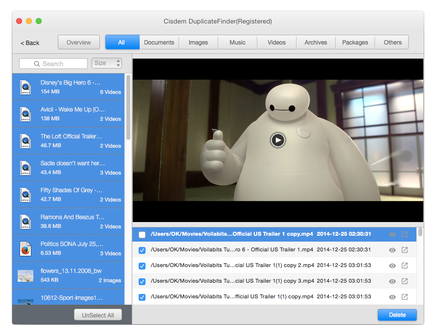 Cisdem DuplicateFinder for Mac
