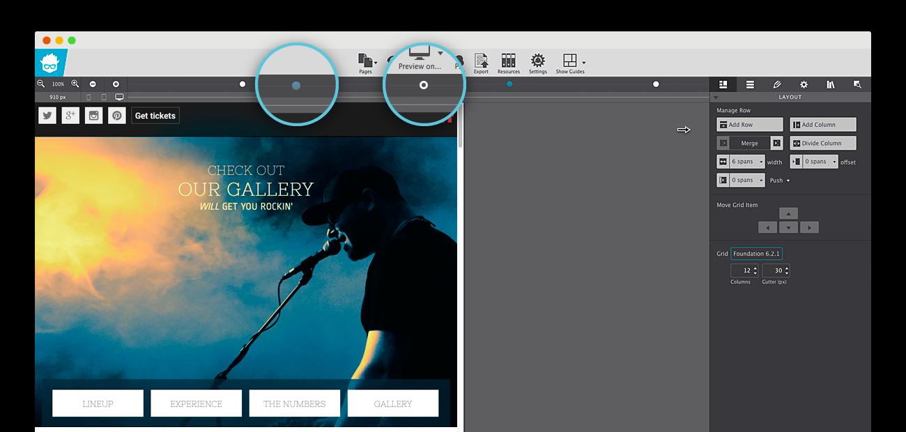 CoffeeCup Foundation Framer for OS X
