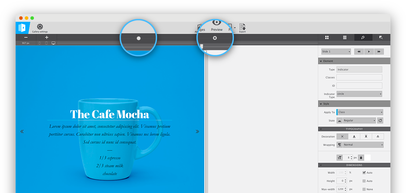 CoffeeCup Responsive Content Slider