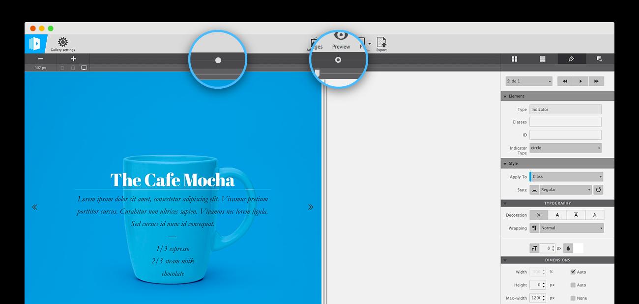 CoffeeCup Responsive Content Slider OSX