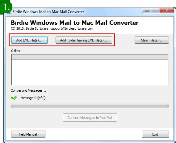 Convert Live Mail to Thunderbird Mail