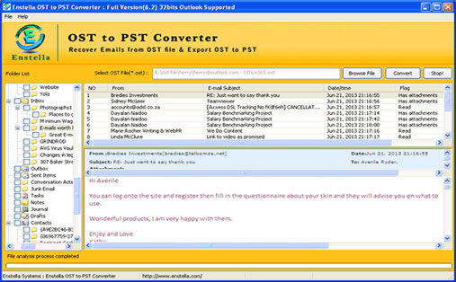 Convert OST to PST Outlook