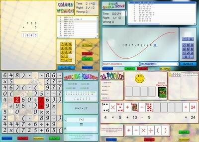 Crazy Math Game