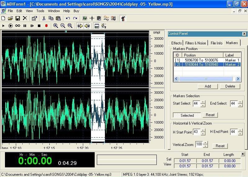 DB Audio Mixer & Editor