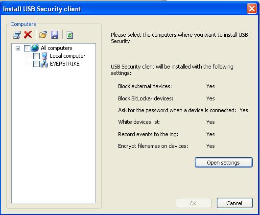 DEKSI USB Security
