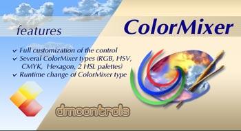 DMControls.ColorMixer .NET control