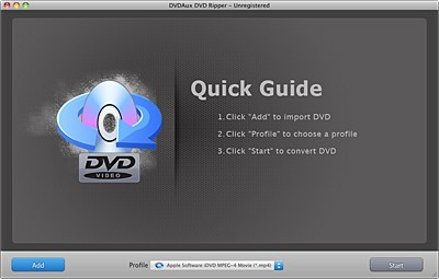 DVDAux DVD Ripper for Mac