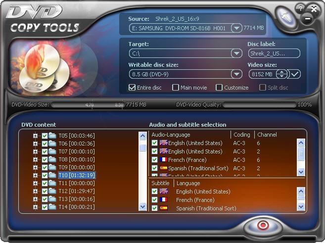DVD Copy Tools