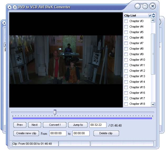 DVD to VCD AVI DivX Converter