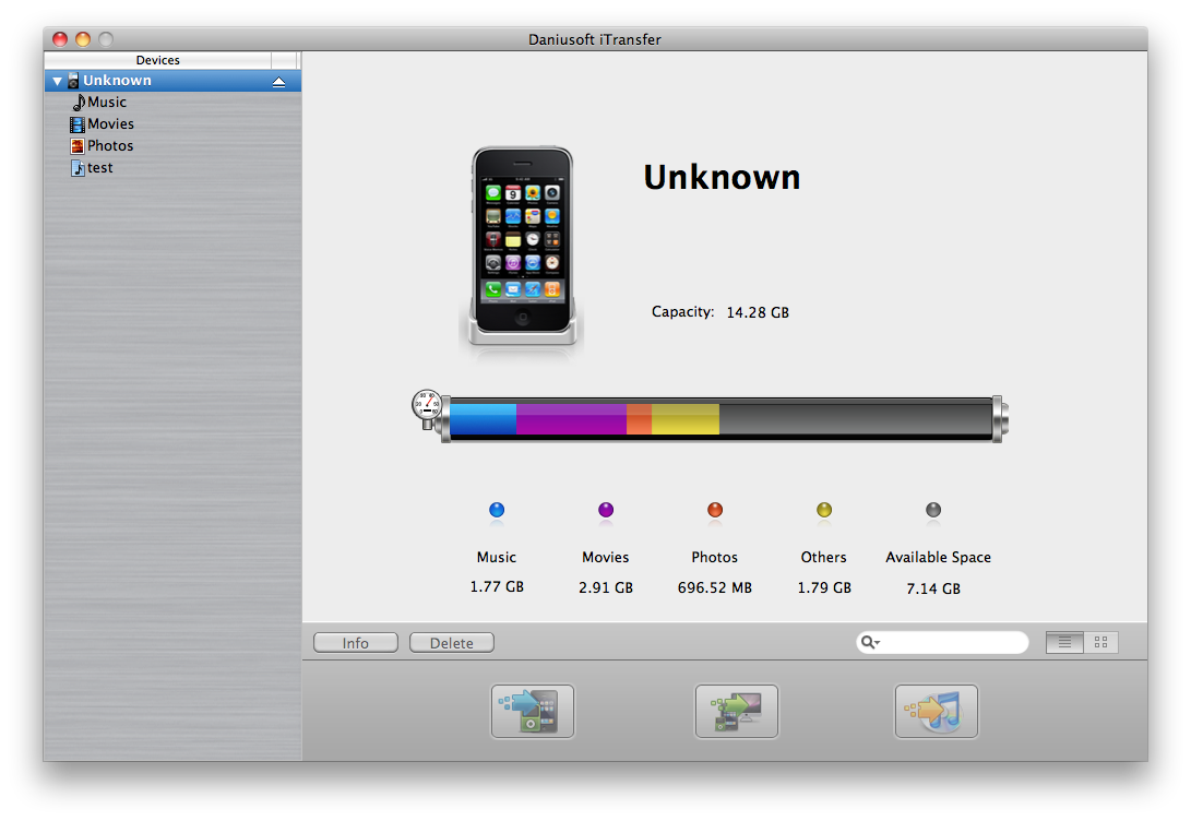 Daniusoft iTransfer for Mac
