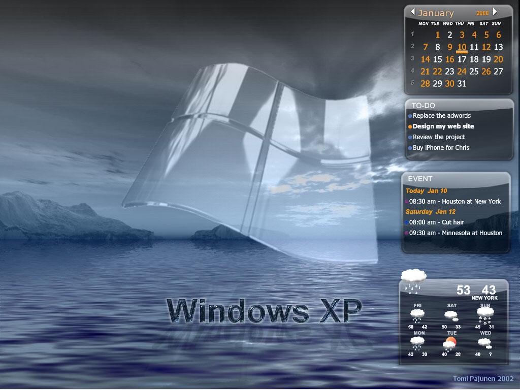 Desktop iCalendar