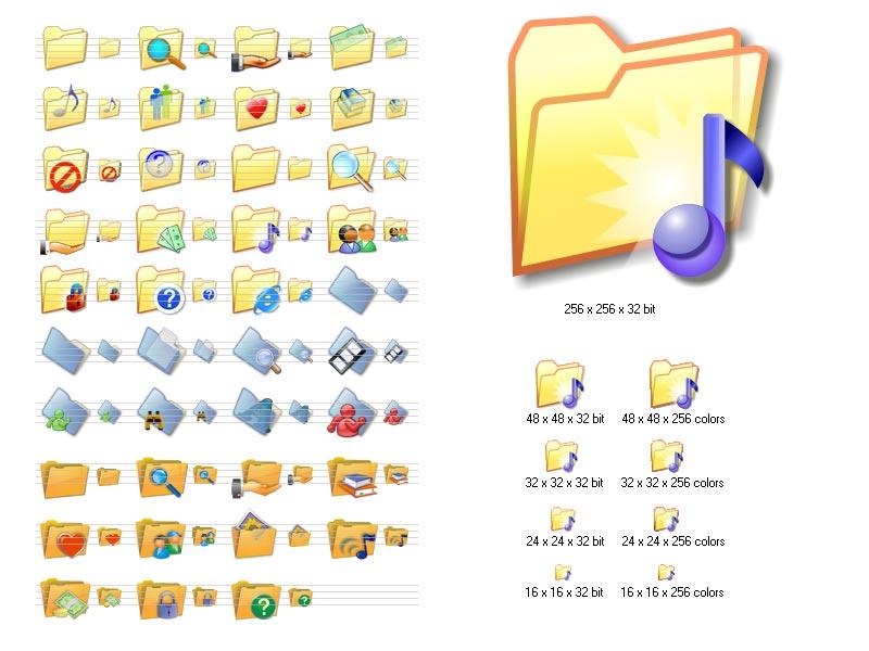 Different Folder Icons