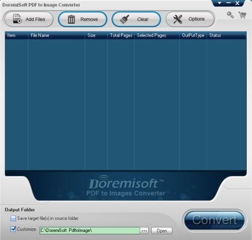 Doremisoft PDF to Image Converter