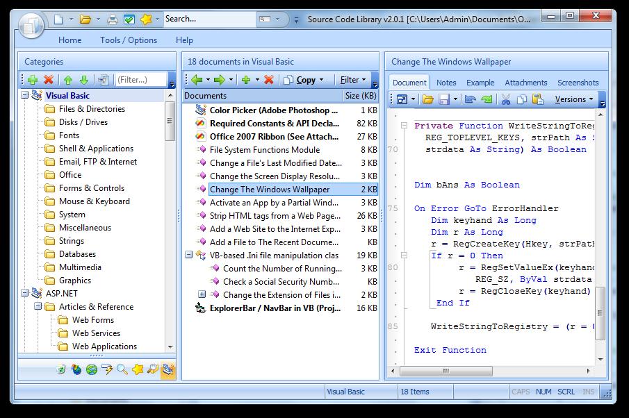 DotNet Code Library