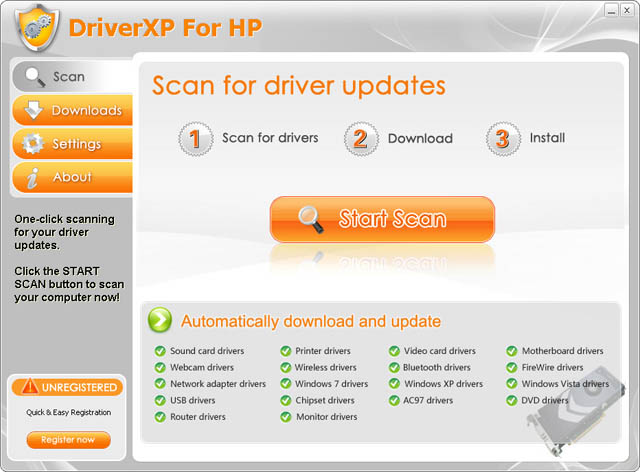 DriverXP For HP