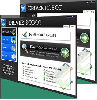 Driver Update Robot