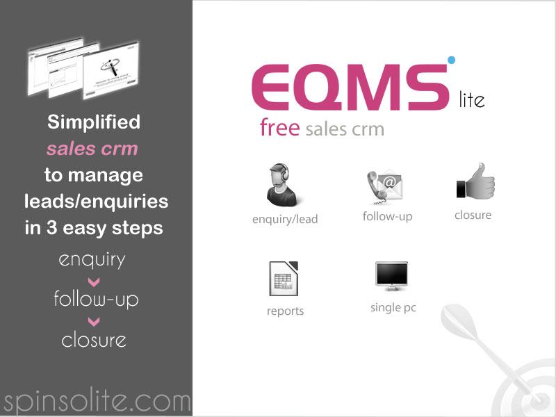 EQMS Lite : Free CRM