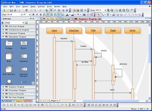 Edraw UML Diagram