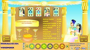 Egyptian Videopoker
