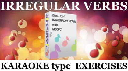English Irregular Verbs with Music